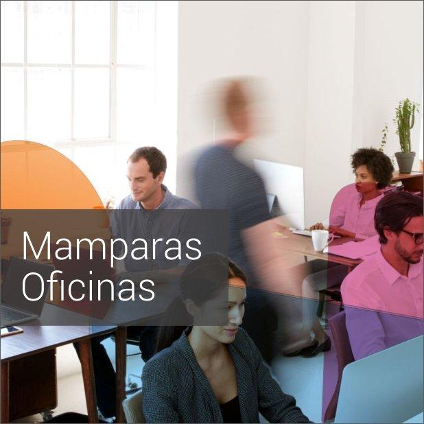 Portada de Dossier descargable de Mamparas protectoras de oficina anticontagio